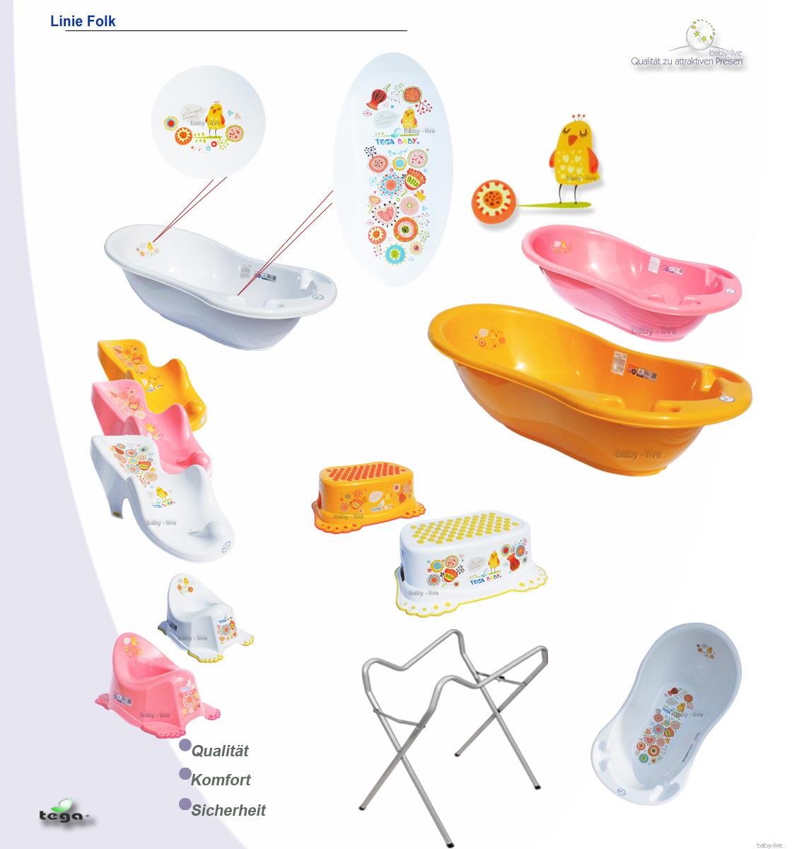folk badewanne set wanne badesitz babywanne baby baden mit. Black Bedroom Furniture Sets. Home Design Ideas