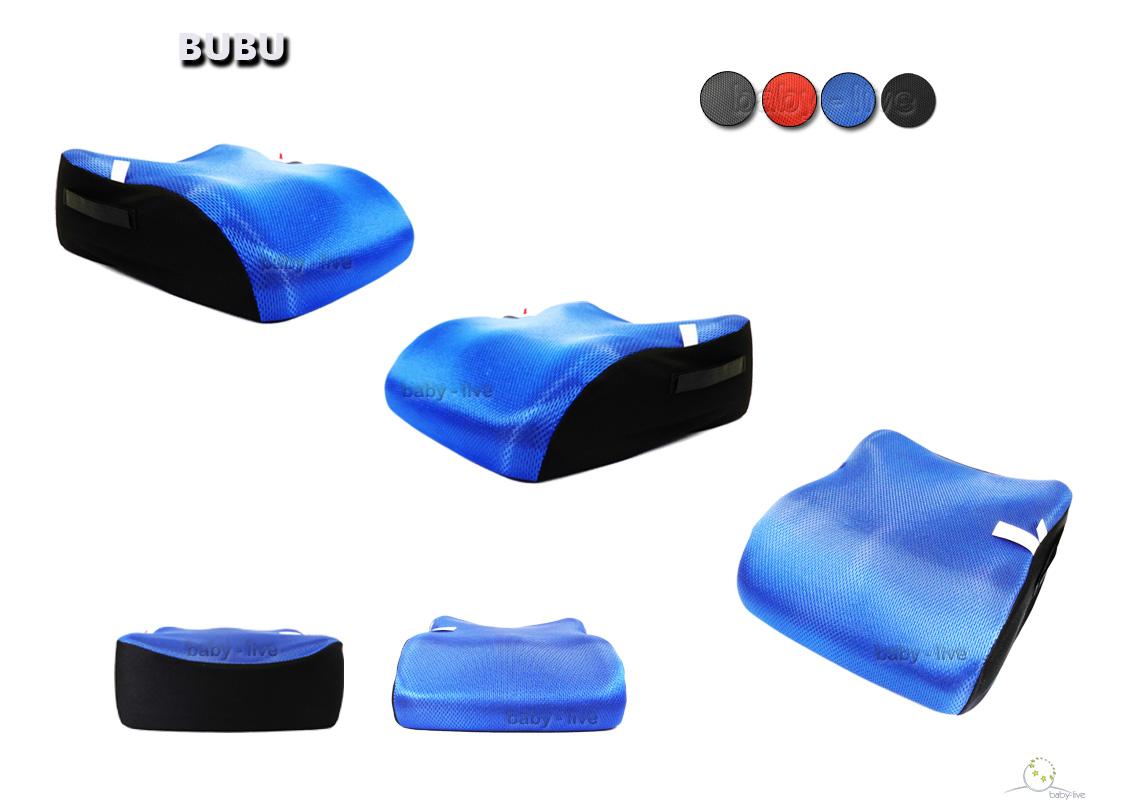 BUBU Sitzerhöhung 34x39x12cm Auto Sitzkissen Kindersitz Autositzerhöhung 15-36kg
